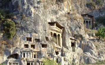Amintas Kaya Mezarları Fethiye
