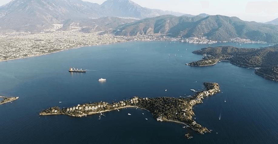 Fethiye Şövalye Adası Nerede ve Nasıl Gidilir